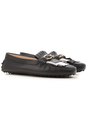 Fringe and chain loafers TOD