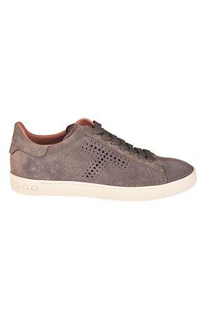 Sneaker in camoscio con T traforata XXW12A0T490RE0B007 TOD