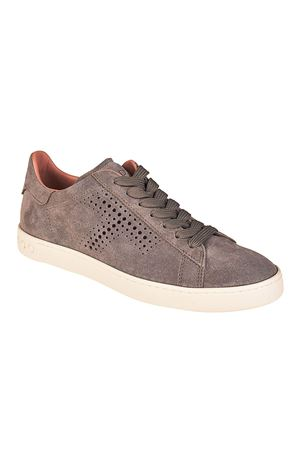 Drilled T suede sneakers TOD