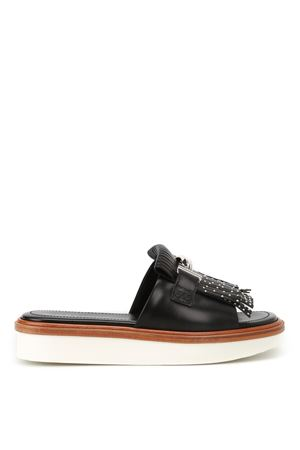 23A Double T leather sandals TOD