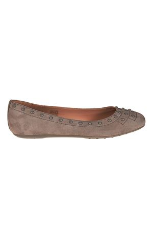 Suede flats with pebbles TOD