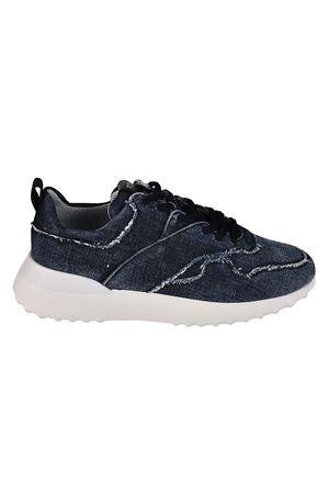Faded denim sneakers TOD