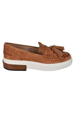 Suede sporty loafers with tassels TOD