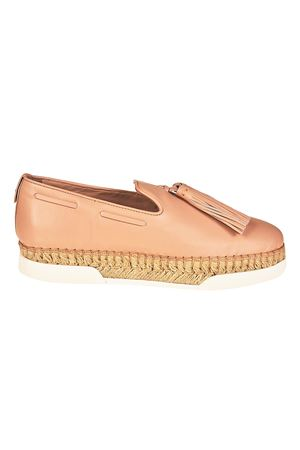 Slip-on rosa in pelle e nappine XXW96A0Y451JUSM011 TOD