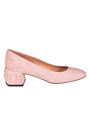 Descuento Excelente Barato Mejor Tienda A Comprar Decolleté rosa tacco strutturato paolo-fiorillo-boutiques rosa Camoscio Exclusiva Línea Barata Costo De La Venta GRUpQdARs