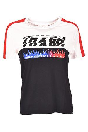 t-shirt WW0WW21687901 TOMMY HILFIGER x GIGI HADID | 8 | WW0WW21687901