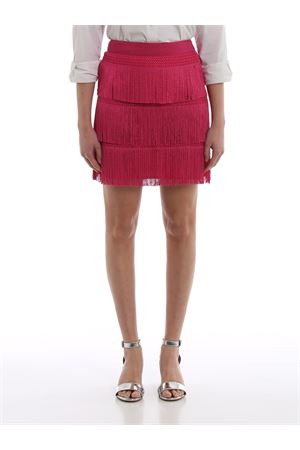 Charleston style fringed mini skirt J01251616217