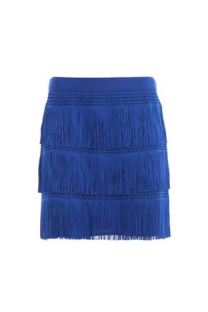 Charleston style fringed mini skirt J01251616296