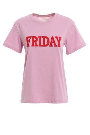 Rainbow Week Friday pink T-shirt J07081672222 ALBERTA FERRETTI | 8 | J07081672222