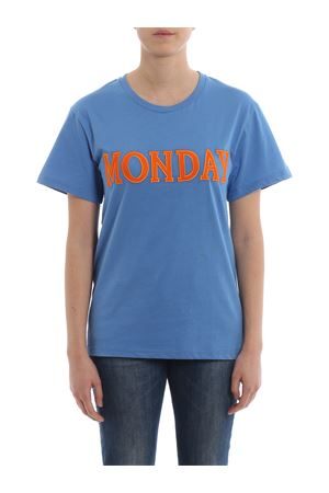 T-shirt bluette Monday Rainbow Week J07081672297 ALBERTA FERRETTI | 8 | J07081672297