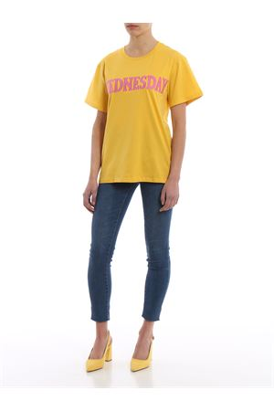 T-shirt gialla Wednesday Rainbow Week J0708167229 ALBERTA FERRETTI | 8 | J0708167229
