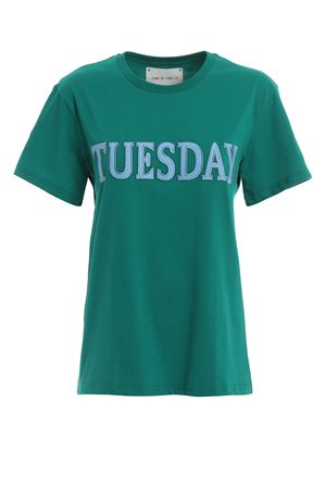 Rainbow Week Tuesday bright green T-shirt J07081672370