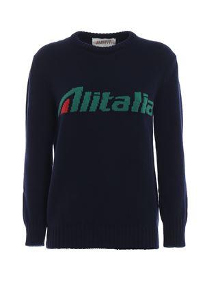 Pullover con intarsio logo Alitalia J098116131290 ALBERTA FERRETTI | 7 | J098116131290