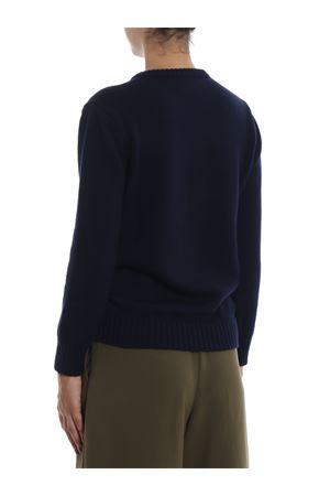 Alitalia logo intarsia wool sweater J098116131290 ALBERTA FERRETTI | 7 | J098116131290