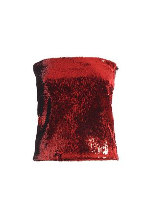 Gonna mini rossa con paillettes 192TO105901921050SCARLET ALEXANDRE VAUTHIER | 40 | 192TO105901921050SCARLET