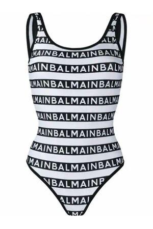 Costume  intero Balmain con logo All-Over BALMAIN | 85 | BPBU00010201