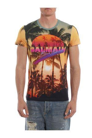 Beach Club print T-shirt <br><br>