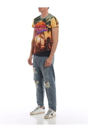 Low crotch distressed jeans  BALMAIN | 24 | RH15249D0246AA