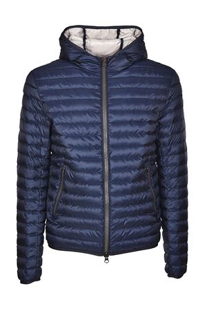 Hooded dark blue puffer jacket COLMAR | 783955909 | 1277R1MQ68