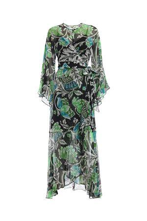 Lizella floral crepe maxi wrap dress DIANE VON FURSTENBERG | 11 | 12512TIGBM