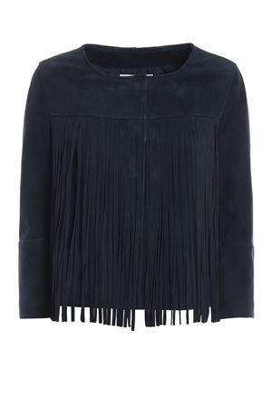Fringe embellished suede jacket DONDUP | 13 | DJ203PL0208DXXXPDD880