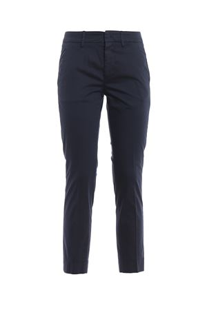 Rocio dark blue stretch cotton trousers DONDUP | 20000005 | DP429RS0986DPTDPDD890