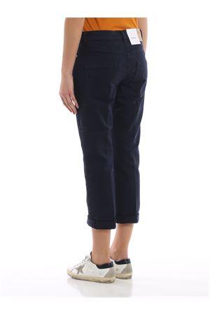 Pantaloni a vita bassa Paige con pizzo DONDUP | 20000005 | P611BBS0009DPTDPDD890