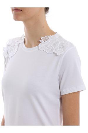 T-shirt girocollo con bordi ricamati  S760JS0212PRM1PDD000 DONDUP | 8 | S760JS0212PRM1PDD000