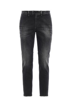 Pablo dark grey stretch cotton denim jeans DONDUP | 20000005 | UP525DS0168UU58DU999