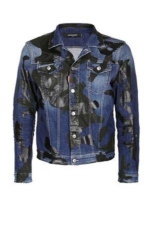 Camouflage Dan denim jacket DSQUARED2 | 3 | S74AM0911S30342470