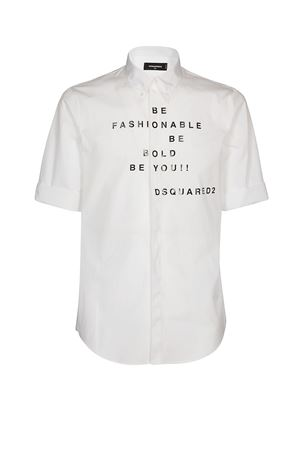 Printed short sleeve shirt<br>