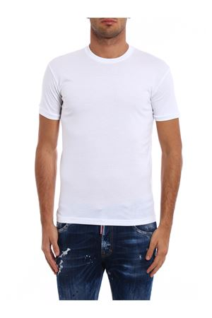 T-shirt in cotone S74GD0254S22427100 DSQUARED2 | 8 | S74GD0254S22427100