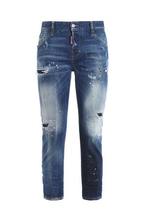 Cool Girl paint spotted denim jeans DSQUARED2 | 20000005 | S75LB0092S30342470