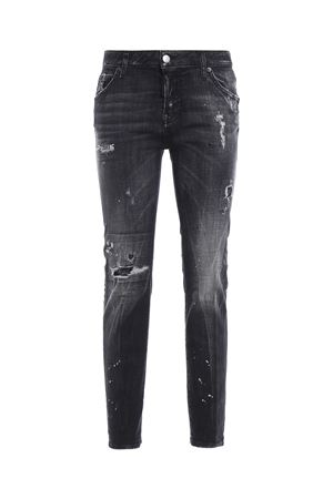 Cool Girl stretch cotton denim jeans