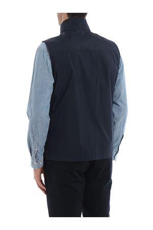 Blue wrinkled effect nylon vest  FAY | 38 | NAM10380510QSFU808