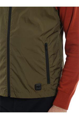Green wrinkled effect nylon vest  FAY | 38 | NAM10380510QSFV605