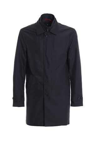 Navy blue Morning double front trench coat NAM61380030AXXU808 FAY | 18 | NAM61380030AXXU808