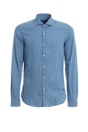 Denim spread collar shirt FAY | 6 | NCMA138115LMJPU200
