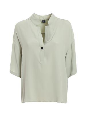 Light green silk blend blouse  FAY | 6 | NCWA1386660QPJV001