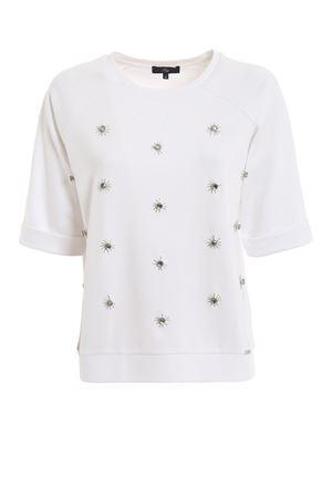 Crystal white sweatshirt FAY   -108764232   NJWB538601SQQCB001