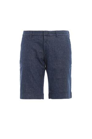 pantalone corto chino lavato slim fit FAY | 20000005 | NTM8338188LQUJU600