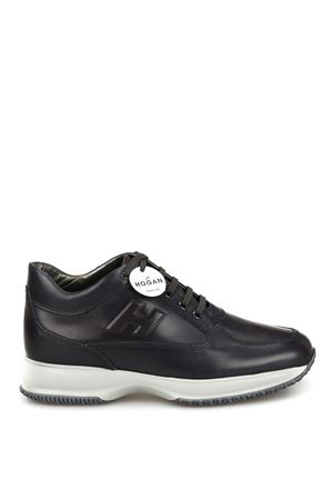 Slate black leather Interactive sneakers HXM00N09041KBOB804 HOGAN scarpe | 120000001 | HXM00N09041KBOB804
