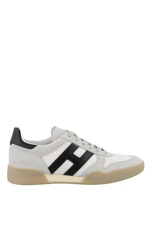 H357 SNEAKERS IN LIGHT GRAY AND WHITE HOGAN | 120000001 | HXM3570AC40IPJ9998