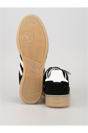 H357 SNEAKERS IN BLACK AND WHITE  HOGAN | 120000001 | HXM3570AC40IPJ9999