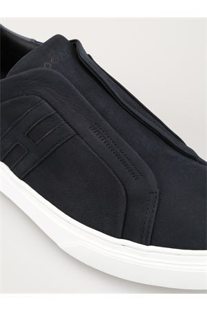 Sneaker H365 slip on in pelle e nabuk HXM3650BE00IJX251W HOGAN | 5032246 | HXM3650BE00IJX251W