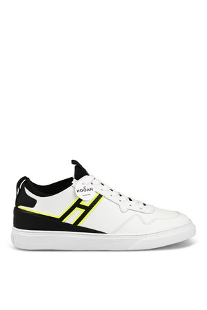 H365 fluo detailed white sneakers  HOGAN | 120000001 | HXM3650BN00KN90001