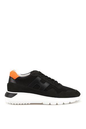 Interactive³ black and orange sneakers  HOGAN | 120000001 | HXM3710AJ10IGK660D