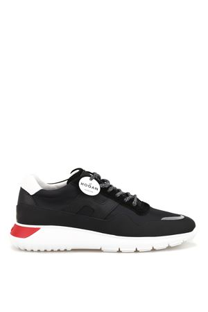Interactive³ leather and tech fabric sneakers HOGAN scarpe   120000001   HXM3710AJ10KEZ250Y