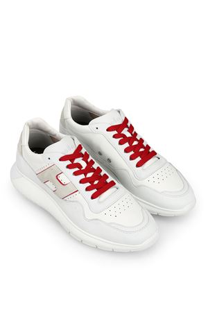 Interactive³ white leather sneakers HOGAN | 120000001 | HXM3710BR30KF60ZP0