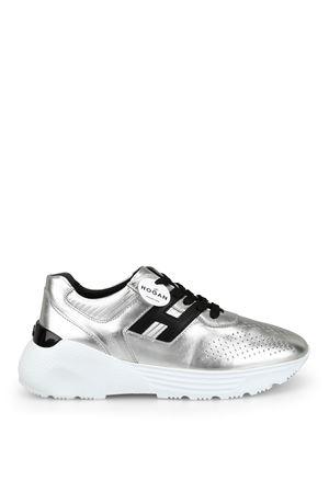 Sneaker Active One grigie e arancio fluo HXM4430BR10KXS683W HOGAN | 120000001 | HXM4430BR10KXQ1X52
